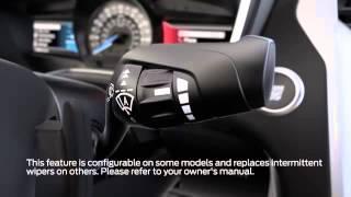 Wipers Rain sensing Ford Canada   YouTube