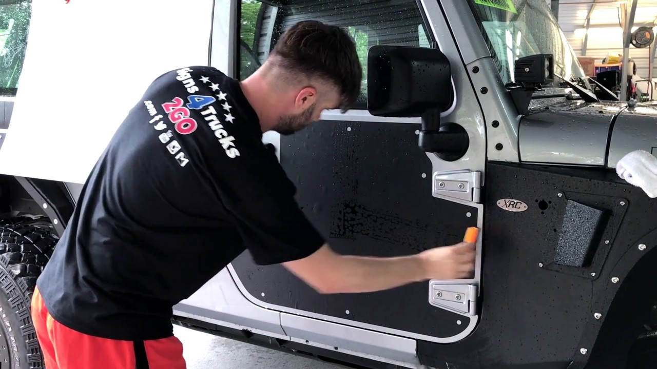 How To Install Jeep Decal Vinyl Skins Sticker Side Graphic