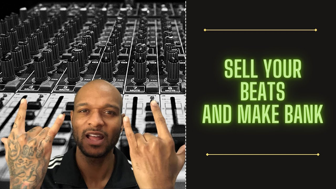 How to SELL Beats WITHOUT Leaving you BEDROOM Studio
