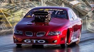 Supercharged GTO Races For a WHOPPING $50,000!
