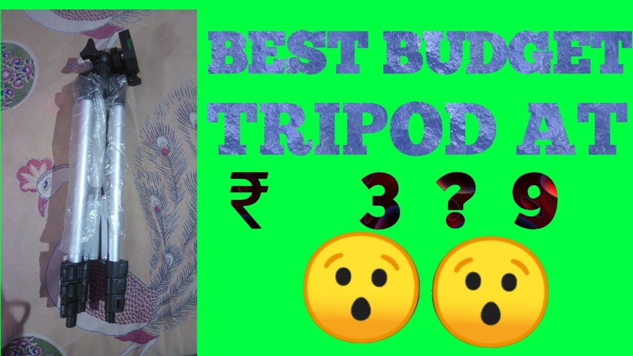 Sabse sasta tripod !! The Youtuber !! click to watch the video