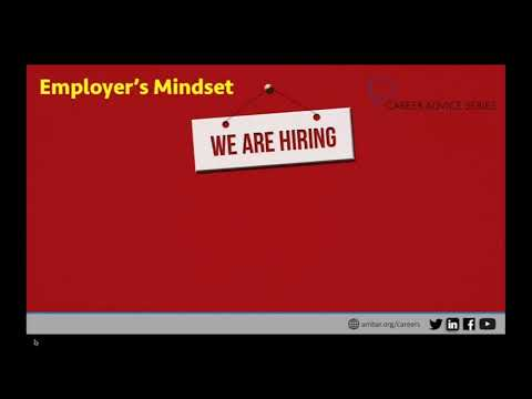 Career Advice Series: Shifting Your Interview Mindset