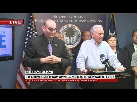 Hurricane Irma update with SC Gov. McMaster