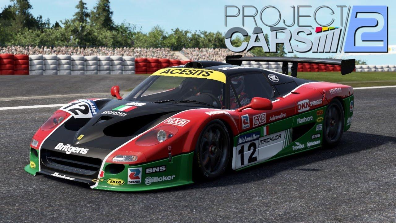 project cars 2 ferrari f50 gt gt1 nurburgring wip youtube. Black Bedroom Furniture Sets. Home Design Ideas