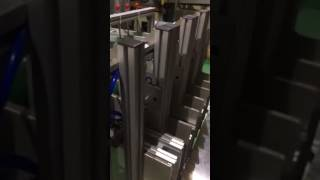 AF-63AT Aluminum Foil container making machine line with 4 CAVITES