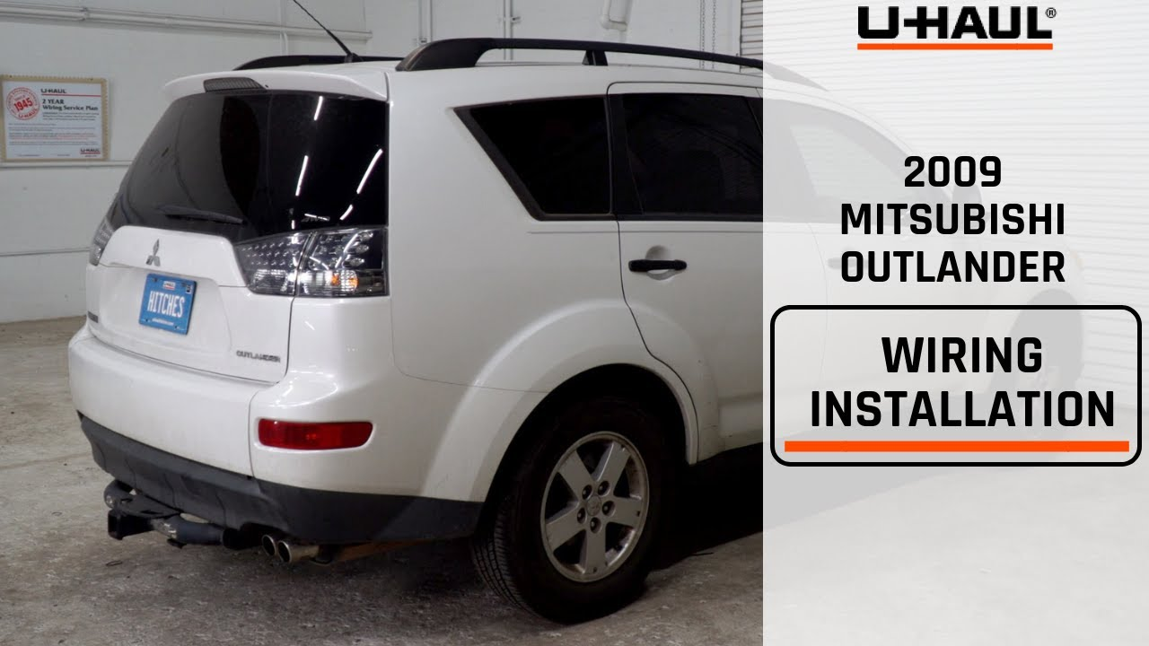 2009 Mitsubishi Outlander Wiring Harness Installation Youtube