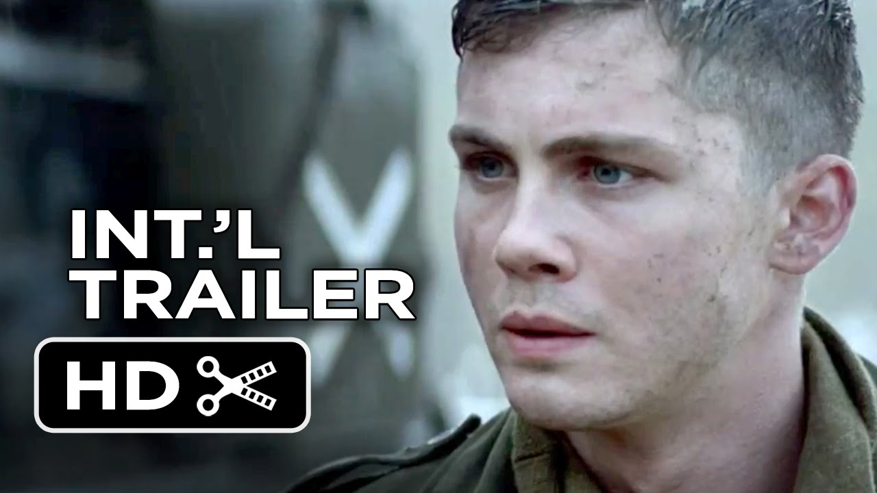 Fury International TRAILER Brad Pitt Logan Lerman WWII - New official trailer fury starring brad pitt