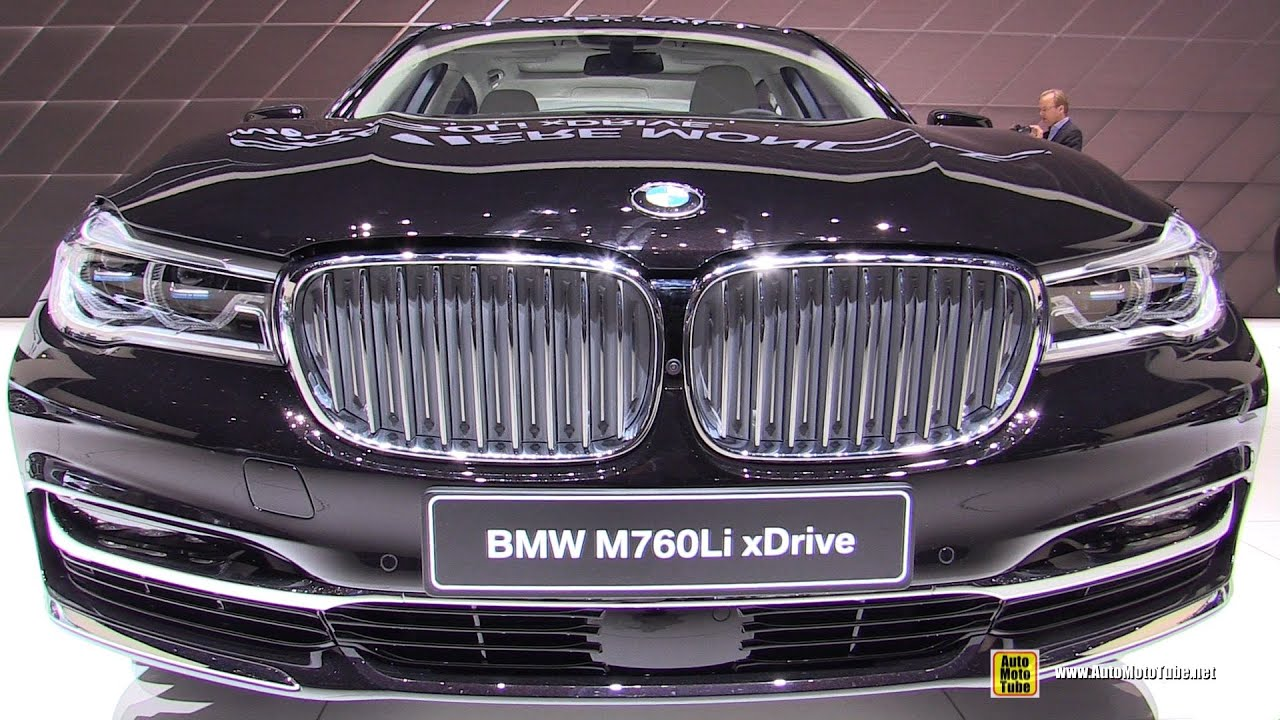 2016 BMW M760i XDrive V12 600hp