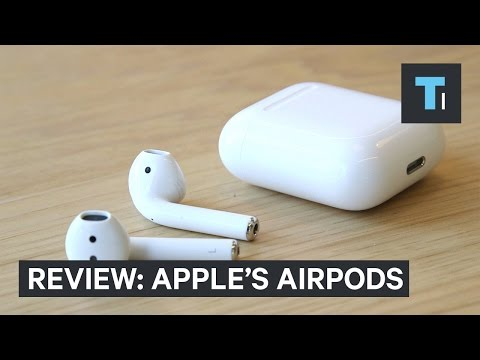 Review: Apple's wireless AirPods