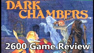 Dark Chambers Atari 2600 Review - The No Swear Gamer Ep 54