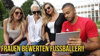 Frauen bewerten Fussballer Aubameyang, James Rodriguez & Marco Reus!!