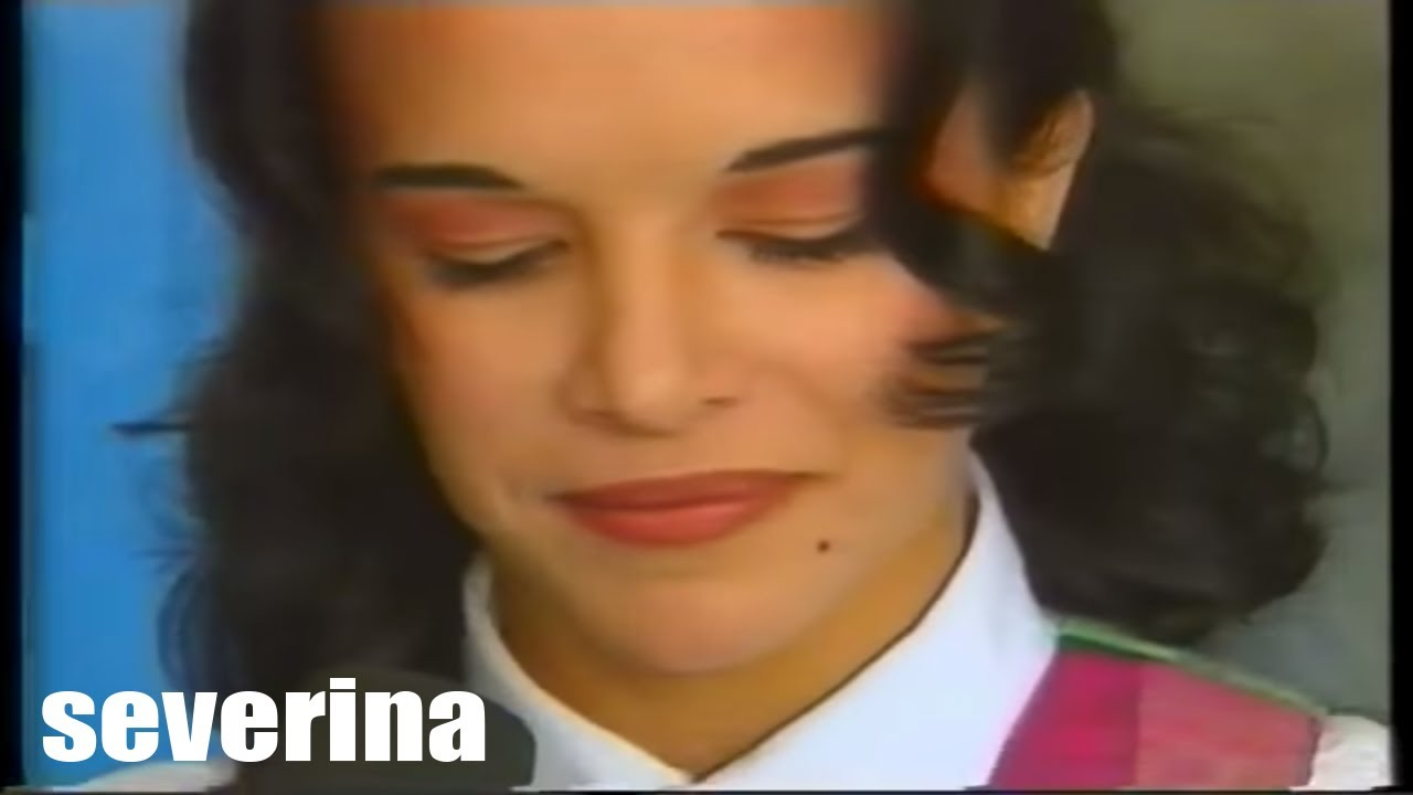 SEVERINA - (INTERVIEW U CD SHOP-u 1993.) - YouTube