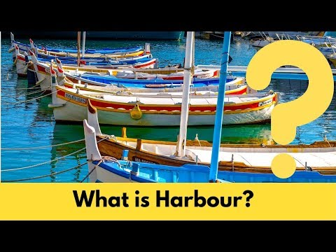 What is Harbour in Water Transportation Engineering.