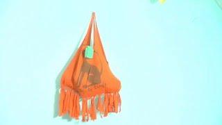 Cara Membuat Tas dari Kaos Bekas