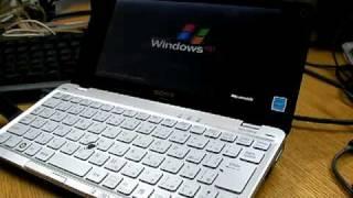 Windows XP SP3 on SONY VAIO type P