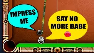 CUE BALL GETS HIS LOVE REJECTED BY THE 8 BALL, GOES NUTS TO PROVE HIMSELF..(unworldly)