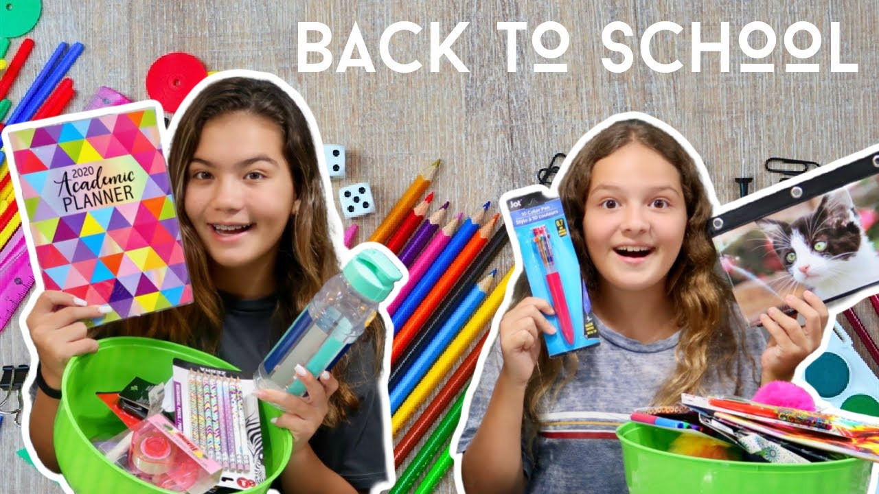BACK TO SCHOOL SUPPLIES * SCAVENGER HUNT * |SISTER FOREVER
