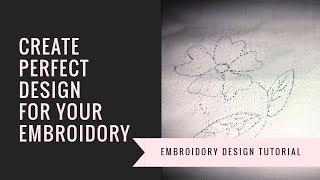 كيفية إنشاء أي تصميم Embroidory | Al-Naaz | تصميم Embroidory |