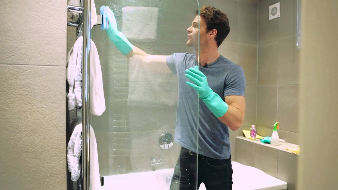 Cleaning Guide How To Clean Your Glass Shower Doors Properly: Cleanspiration: How To Clean Your Shower Screen