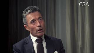 anders fogh rasmussen talks about his new book the will to lead interview by todd benjamin