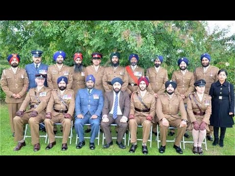 british armed forces commemorate the battle of saragarhi