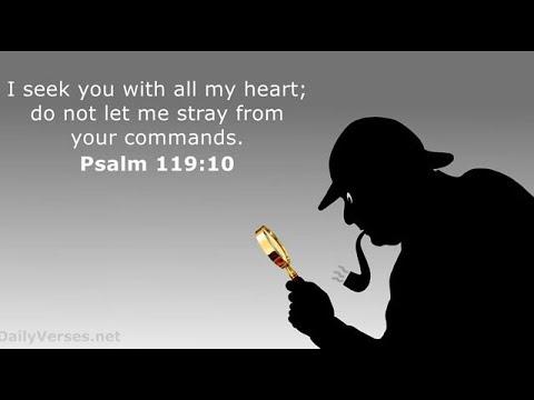 Psalm 119:10 - Seeking YHWH - YouTube