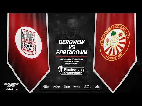 Dergview Portadown Goals And Highlights