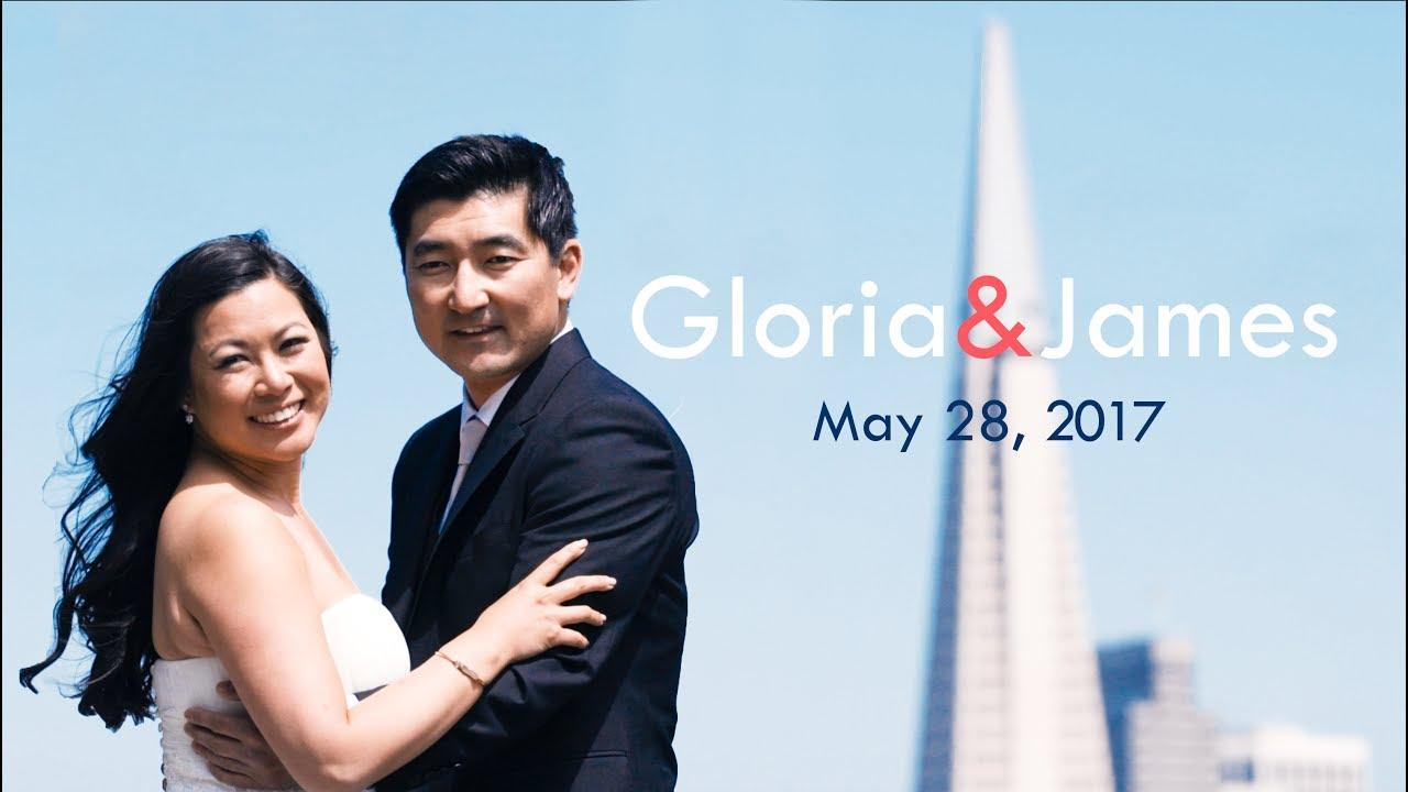 Gloria & James: Wedding Highlight Film at The University Club in San Francisco, CA