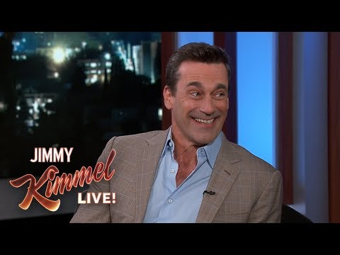 Jon Hamm on Bill Murray, CardinalsCubs Rivalry & Kimmel vs. Cruz