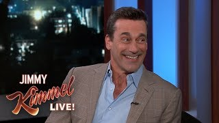 Jon Hamm on Bill Murray, Cardinals/Cubs Rivalry & Kimmel vs. Cruz