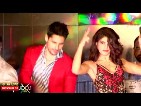 Sidharth Malhotra and Jacqueline Fernandez Intimate Scene From Laagi Na Choote Song | A Gentleman