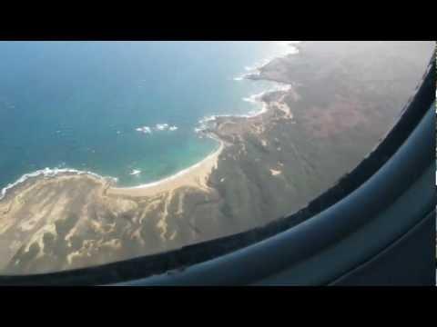 Island Air Dash 8 Landing Molokai