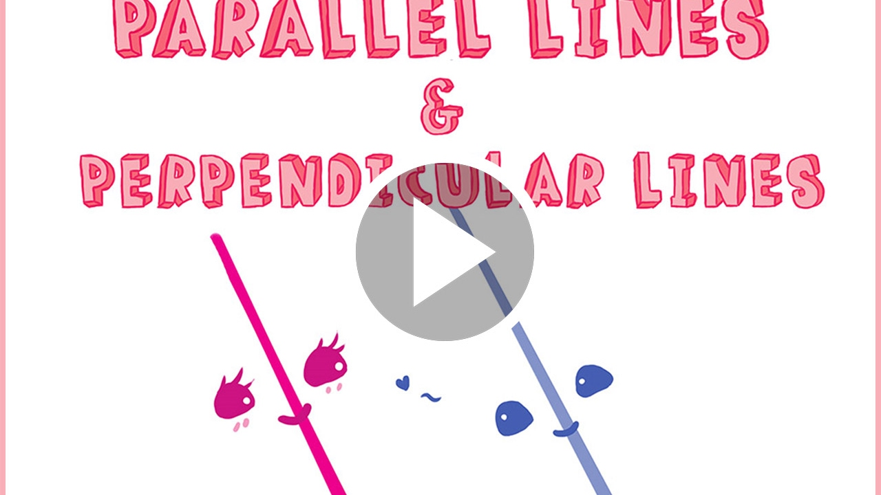 medium resolution of KooBits StoryMath - Parallel Lines and Perpendicular Lines - YouTube