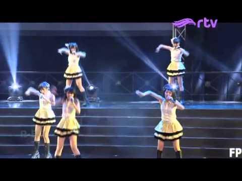 JKT48 - Kaze wa Fuiteiru @ Konser JKT48 RTV (27-6-2015)