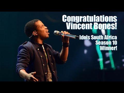 #IdolsSA Hangout with winner Vincent Bones