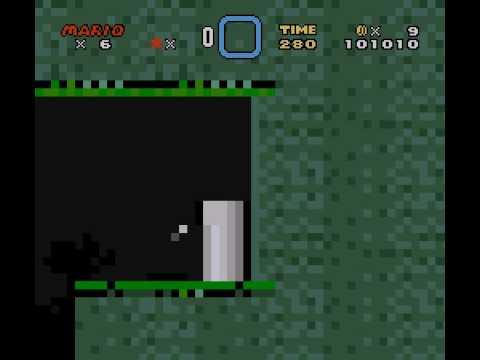 Super Mario World 3: Islands of Mystery - Part 7: Death Bat's Cave