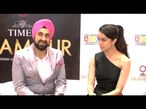 SHRADDHA KAPOOR @ 14TH EDITION  OF GLAMOUR 2015 INDIAS  LARGEST JEWELERY EXPO