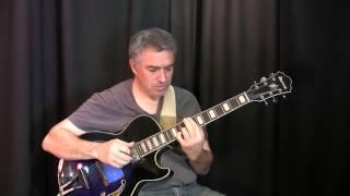 Boplicity - Miles Davis, solo jazz fingerstyle guitar arrangement - Jake Reichbart