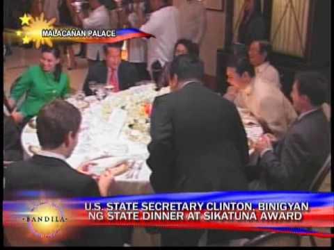 Arroyo receives Clinton, bestows Order of Sikatuna