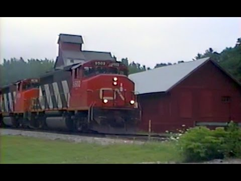 Conrail and Central Vermont in the 1990
