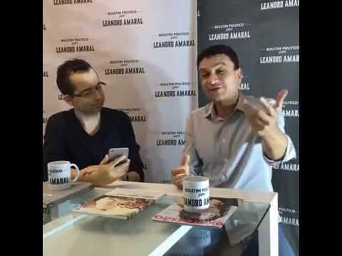 Leandro Amaral entrevista Tunico Vieira (ao vivo)