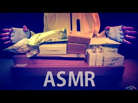 [ASMR] Massive 1 Hour UNBOXING Filmmaking DSLR Gear - ENGLISH Whispering
