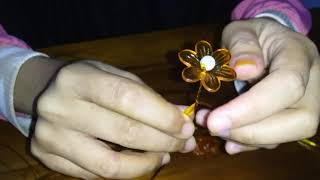 Tutorial Membuat Bunga Akrilik