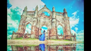 Indinan Pre Wedding Song Shoot, Shettihalli Church ,Ondu Malebillu,  Pavithra & Manjunath,