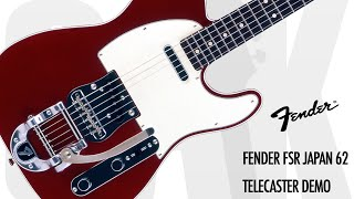 Fender FSR Japan 62 Telecaster Demo at GAK