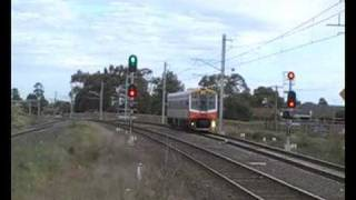 V/Line - North Eastern Suburbs & Middle Footscray - Thursday 11th September 2008