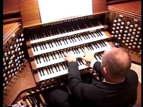 Jonathan Biggers Organ Concert 2005 at St.Philips Cathedral, Atlanta:  Part 2
