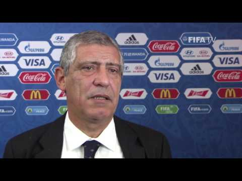 Fernando Santos reaction to FIFA Confederations Cup Official Draw