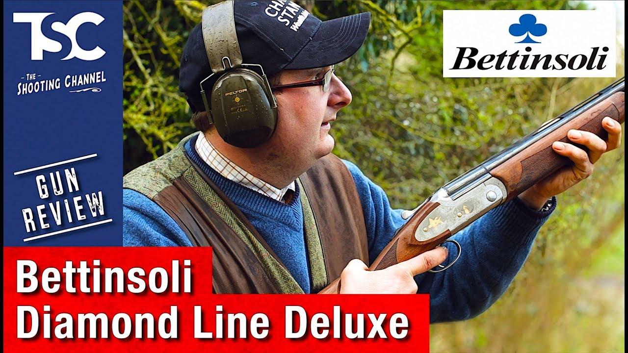 Bettinsoli Diamond DeLuxe shotgun - reviewed by Sporting Gun magazine
