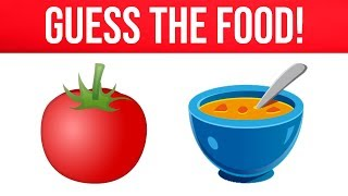 Can You Guess The Food By The Emoji? | Guess Emoji Challenge | Emoji Puzzles!